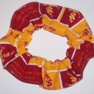 USC Trojans College Fabric Hair Scrunchie Scrunchies NCAA