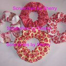 4 NEW I LOVE LUCY Fabric Hair Scrunchies