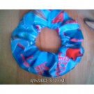 LITTLE LEAGUE BASEBALL Fabric  Hair Scrunchie