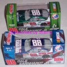 2 Dale Earnhardt Jr 88 AMP National Guard Diecast Cars