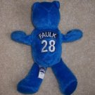 Indianapolis Colts Marshall Faulk #28 BEANIE BEAR NFL