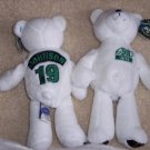 New York Jets Keyshawn Johnson #19  BEANIE BEAR NFL