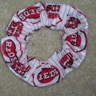 Cincinnati Reds Baseball Fabric  Scrunchie Scrunchies