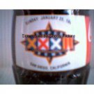 Super Bowl XXXII San Diego, CA Coke Coca Cola Bottle