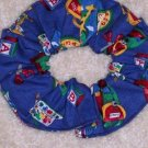School Days Fabric  Hair Scrunchie Gift for Teachers