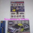 Jimmie Johnson Collectible Stamp Stickers Photo NASCAR