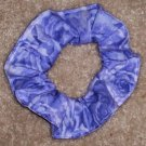 Light Purple Roses Fabric Hair Scrunchie Scrunchies