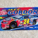 Jeff Gordon Car License Plate Tag NASCAR