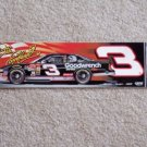 Dale Earnhardt  Car Auto Bumper Sticker  NASCAR