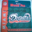 Miami Dolphins Football Mouse Pad NEW NFL