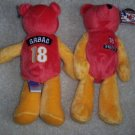 Kansas City Chiefs Elvis Gabag BEANIE BEAR NFL