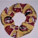 Florida State Seminoles Fabric Hair Scrunchies NCAA NEW