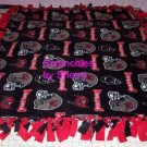 Tampa Bay Buccaneers Double Fleece Blanket Throw NFL