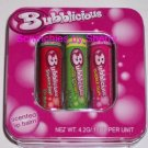 3 Bubblicious Scented Lip Balm in Tin Strawberry Apple