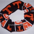 Tennessee Patchwork  Fabric Hair Ties Scrunchie NCAA