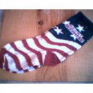 MOUNT RUSHMORE FLAG GIRLS SOCKS 7-9