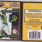 2 New York Yankees Derek Jeter Magnet Player Card MLB