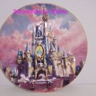 Disney World Happiest Celebration Castle Collect Plate