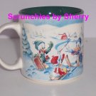 Disney Store Mickey Winter Wonderland 1996 Coffee Mug