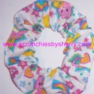 Care Bears White Fabric Hair Scrunchie Scrunchie