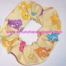Care Bears Yellow Fabric Hair Scrunchie Scrunchie