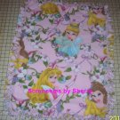 Disney Pink Princess Garden Fleece Baby Pet Blanket
