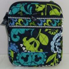 Disney Vera Bradley Where's Mickey Mini Hipster Purse Blue Lime Green Wallet