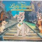 4 Walt Disney Lady Tramp II Lithographs Art Classic Lithographs Sealed Retired