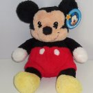 Disney Mickey Mouse Plush Soft Cuddly Tags Great Gift Baby Stuffed