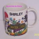 Universal Studios Florida Shirley Tea Coffee Mug Personal Gift