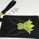 Disney Tinker Bell Wristlet Little Green Dress Theme Parks Handbag Wallet
