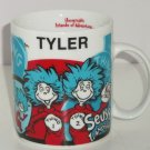 Dr Seuss Landings Tyler Coffee Mug Universals Islands of Adventure Thing 1 2 Cup