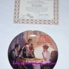 Norman Rockwell  Collector Plate Room that Light Made Bradford Exchange Vintage