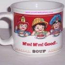 Campbells Kids Soup Mug Career Ceramic Coffee Mug Mm! Mm! Vintage Retired 1993