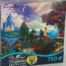 Disney Cinderella Puzzle Thomas Kinkade 750 Pieces Dream Collection Artwork