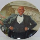Daddy Warbucks Collector Plate  Columbia Picture Movie Vintage1982 Great Gift
