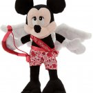 "Disney Mickey Mouse Cupid Valentines Day  Plush Toy 9"" Theme Parks"