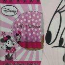 Disney Minnie Mouse Fabric Shower Curtain Bathroom Pink Love