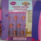 Disney Sofia the First Princess Fabric Shower Curtain Bathroom Purple