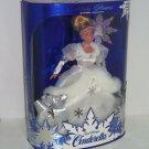Disney Cinderella Doll Holiday Edition Vintage 1996 Mattel White Dress