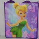 2 Disney Store Tinker Bell Reusable Shopping Tote Bags Fairies Purple