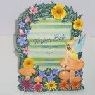 Walt Disney World Tinker Bell Photo Frame Picture Flowers Disneyland Colorful