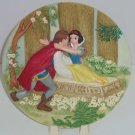 Disney Store Snow White Collector Plate Happily Ever After Seven Dwarfs LE 5000