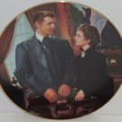 Gone with the Wind Collectors Plate At Cross Purposes Bradford Exchange Vintage