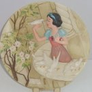 Disney Store Snow White Collector Plate Bird One Song Seven Dwarfs LE 5000