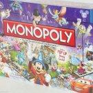 Disney Monopoly Board Game Theme Parks Pop-up Castle Sealed Box