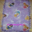 Disney Blanket Princess Belle Cinderella Snow White Tied Fleece Baby Pet Lap