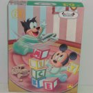 Disney Mickey Mouse Babies Puzzle 63  Pieces Sealed Box Vintage Western Publish