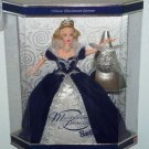 1999 Holiday Millennium Princess Barbie Doll Christmas  Ornament MIB NRFB