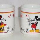 Walt Disney Productions Mickey Minnie Mouse Coffee Mug Vintage WALT Cup